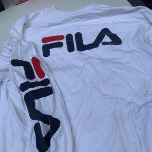 long sleeve FILA shirt